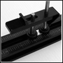 "Box clamp with ridges and trap slot (20mm/.781"")"